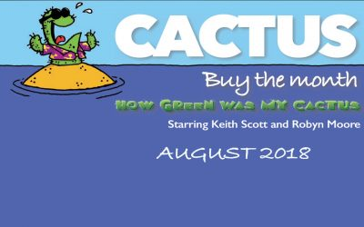 Cactus:  Buy The Month for August