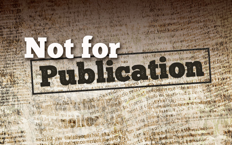 Not-for-Publication